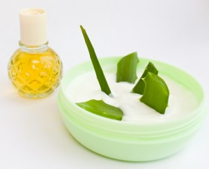 using aloe vera cream for acne
