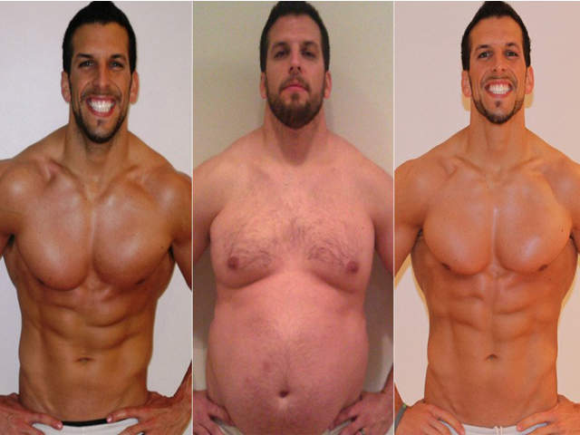 Fitness Trainer Drew Manning Gains, Then Loses 70 Pounds