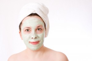 Aloe Vera Face Mask from AloeVera.com.